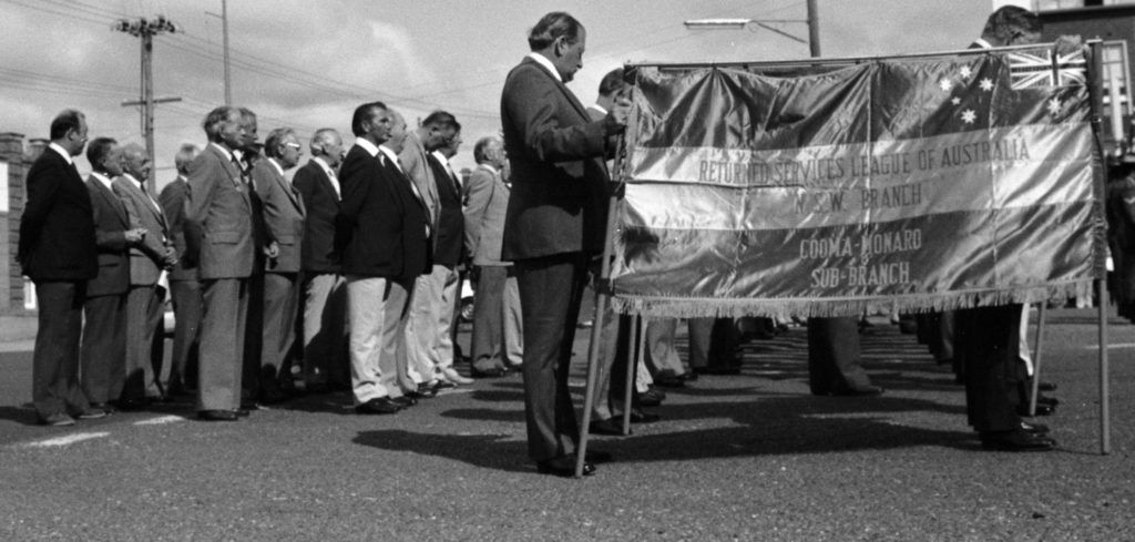 Anzac Day Cooma 1977