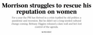 Morrison struggles