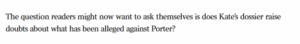 Porter defamation: alleged victim's friends