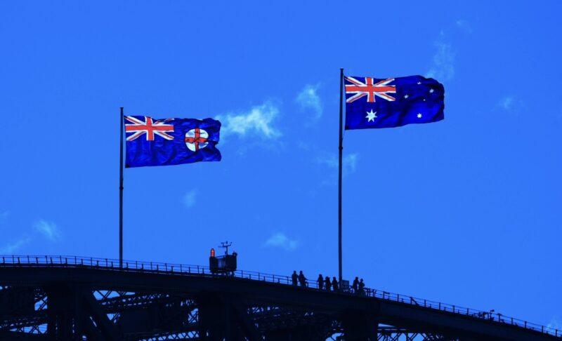 Australian flag feature