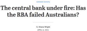 Central bank under fire