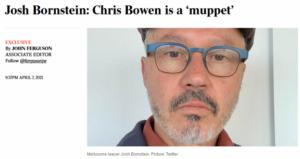 Chris Bowen a muppet