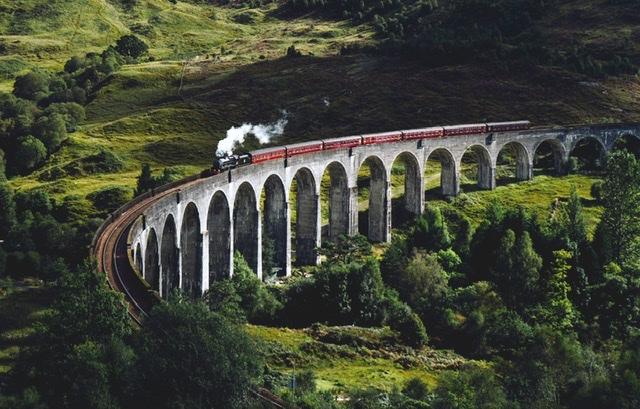 Scotland landscape feature