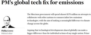 PM's global tech fix
