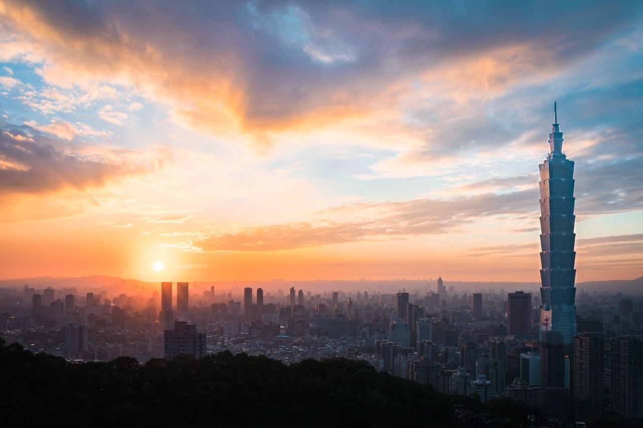 Taiwan skyline feature