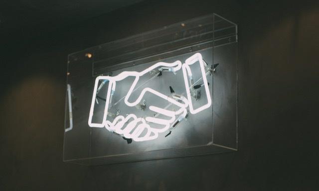 Handshake feature