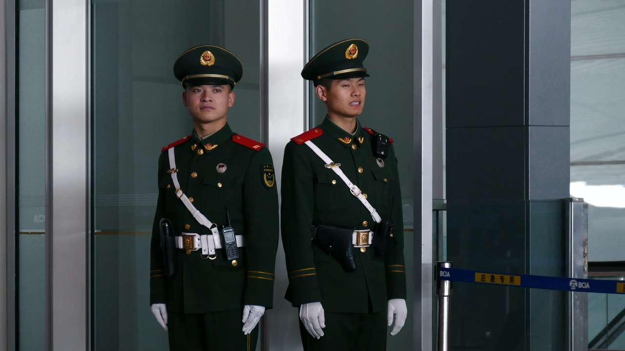 Chinese soldiers feature