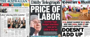 Labor playing debt roulette