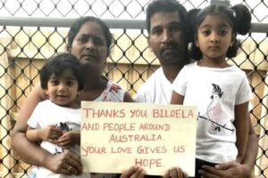 A family from Biloela holds a mirror to unconscionable Government behaviour