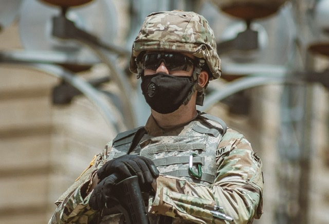 Covid soldier