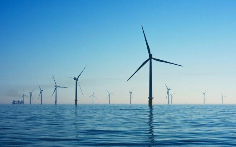 Wind farm feature
