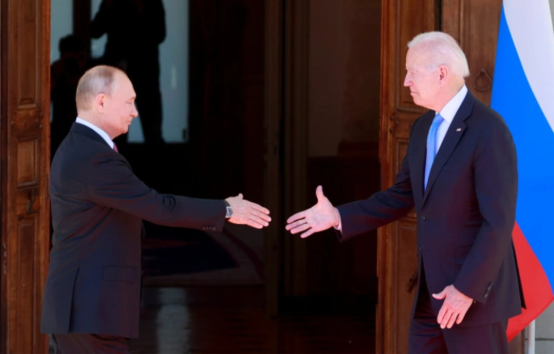 Biden and Putin Reuters