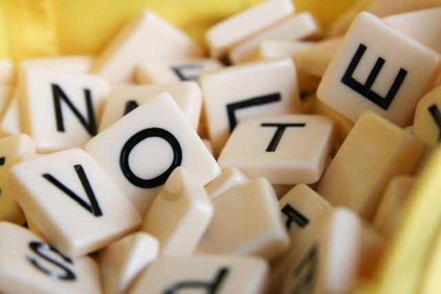 Vote scrabble feature