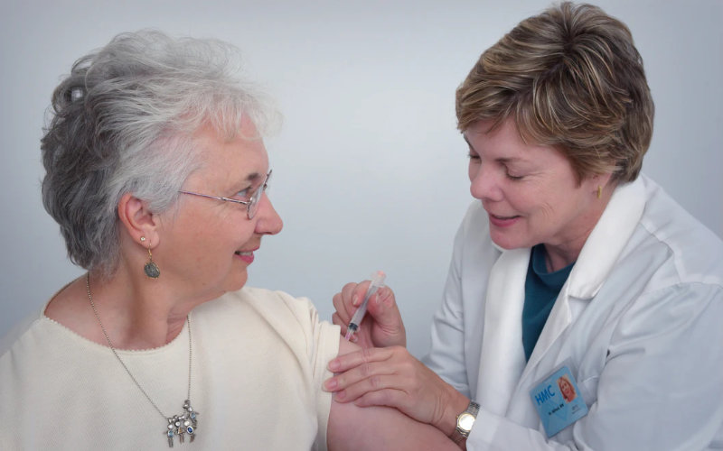aged care vaccination