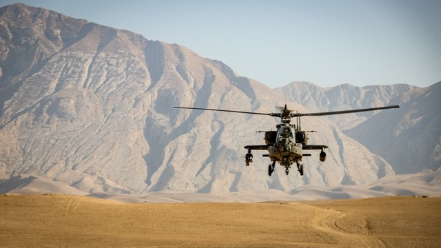 Afghanistan helicopter