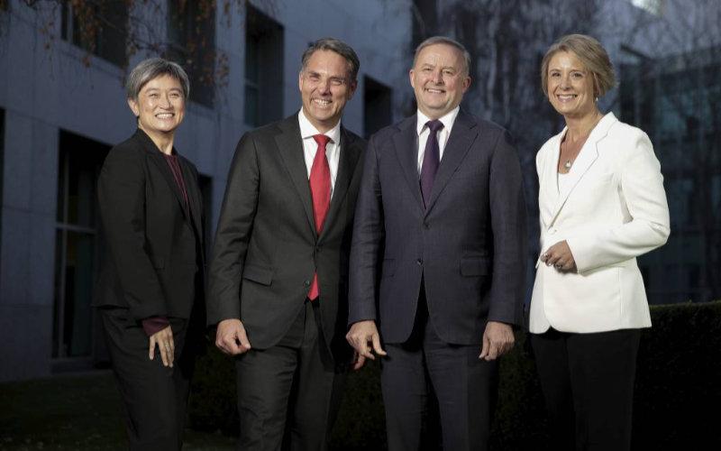 Labor leadership team