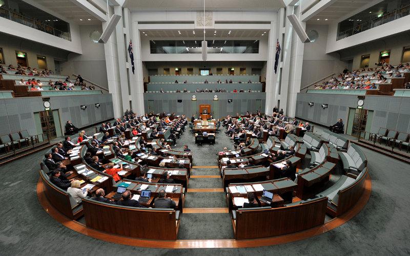 Australian parliament house of reps