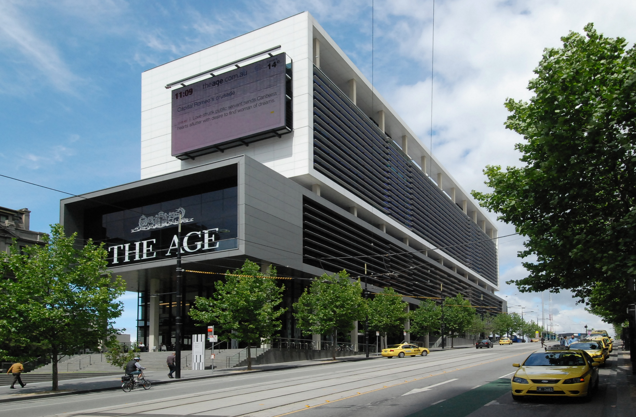 the age building