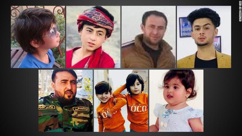 kabul drone strike victims